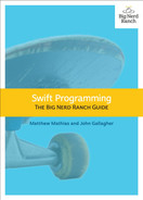 Cover of Swift Programming: The Big Nerd Ranch Guide