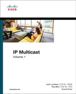 Cover of IP Multicast, Volume 1: Cisco IP Multicast Networking
