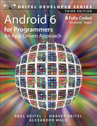 Cover of Android™ 6 for Programmers: An App-Driven Approach, Third Edition