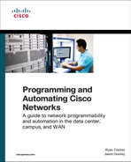 Cover of Programming and Automating Cisco Networks