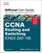 Cover of CCNA Routing and Switching ICND2 200-105 Official Cert Guide