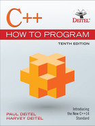 Cover of C++ How to Program, 10/e