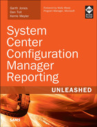Cover of System Center Configuration Manager Reporting Unleashed