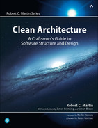 Cover of Clean Architecture: A Craftsman's Guide to Software Structure and Design, First Edition