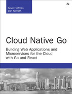 Cover of Cloud Native Go: Building Web Applications and Microservices for the Cloud with Go and React