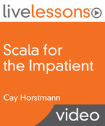 Book cover for Scala for the Impatient