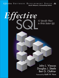 Effective SQL: 61 Specific Ways to Write Better SQL, First Edition