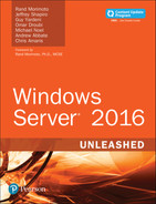 Cover of Windows Server 2016: Unleashed