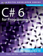 Cover of C# 6 for Programmers, Sixth Edition