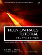 Cover of Ruby on Rails™ Tutorial: Learn Web Development with Rails, Fourth Edition