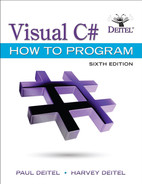 Cover of Visual C# How to Program