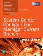 Cover of System Center Configuration Manager Current Branch Unleashed, First Edition