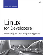 Cover of Linux for Developers: Jumpstart Your Linux Programming Skills