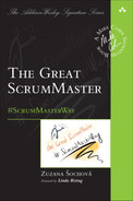 Cover of The Great ScrumMaster: #ScrumMasterWay, First Edition