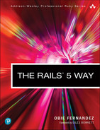 Cover of The Rails 5 Way, Fourth Edition