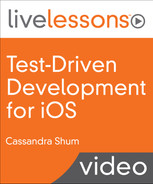 Cover of Test-Driven Development for iOS LiveLessons Video Training: Using Continuous Integration and Continuous Delivery