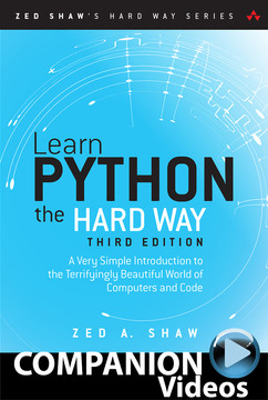 Learn Python the Hard Way (Companion Videos)