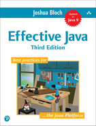 Cover of Effective Java, Third Edition