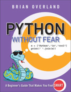 Python Without Fear, First Edition