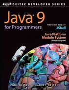Cover of Java® 9 for Programmers, Fourth Edition