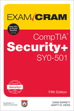 CompTIA Security+ SY0-501 Exam Cram, Fifth Edition