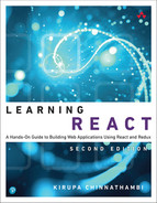 Cover of Learning React: A Hands-On Guide to Building Web Applications Using React and Redux, Second edition