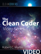 Cover of Clean Coder (Clean Coders Video Series)