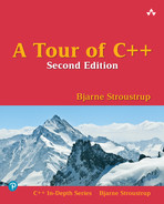 Cover of A Tour of C++, Second Edition