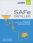 Cover of SAFe® 4.5 Distilled: Applying the Scaled Agile Framework® for Lean Enterprises, Second Edition