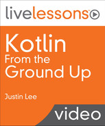 Cover of Kotlin From the Ground Up LiveLessons Video Training