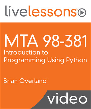 MTA 98-381: Introduction to Programming Using Python