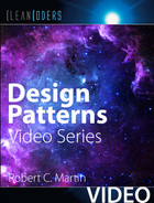 Cover of Design Patterns (Clean Coders Video Series)