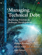 Managing Technical Debt: Reducing Friction in Software Development, Fifth Edition