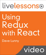 Using Redux with React LiveLessons Video Training