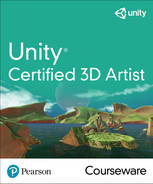 Unity Certified 3D Artist Courseware