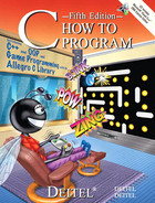 Cover of C How to Program, Fifth Edition
