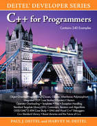 Cover of C++ for Programmers: Deitel