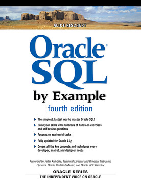 Oracle® SQL by Example, Fourth Edition