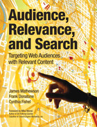 Cover of Audience, Relevance, and Search: Targeting Web Audiences with Relevant Content