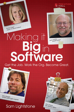 Making it Big in Software: Get the Job. Work the Org. Become Great