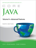 Cover of Core Java® Volume II—Advanced Features, Ninth Edition