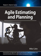 Cover of Agile Estimating and Planning