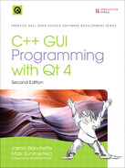 Cover of C++ GUI Programming with Qt 4