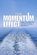 Cover of The Momentum Effect: How to Ignite Exceptional Growth