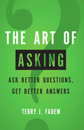 Book cover for The Art of Asking: Ask Better Questions, Get Better Answers