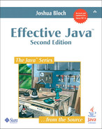 Cover of Effective Java, 2nd Edition