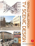 Cover of TV Scenic Design, 2nd Edition