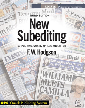 New Subediting, 3rd Edition