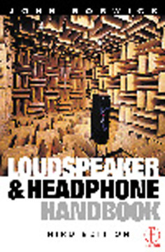 Loudspeaker and Headphone Handbook, 3rd Edition