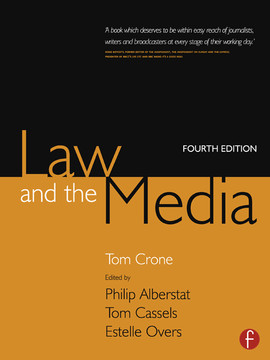 Law and the Media, 4th Edition